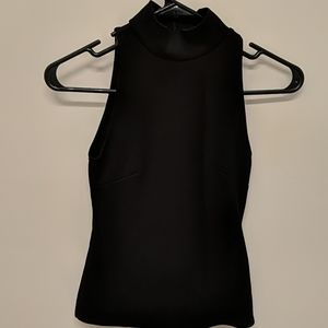 H&M black form fitting top